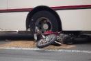 Acidente Moto e Ônibus