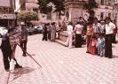 Fotógrafo na Praça