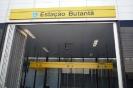 Facha da Estação Butantã Linha 4 Amarela